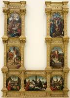 Master of Astorga~Altarpiece of the Passion of Chr