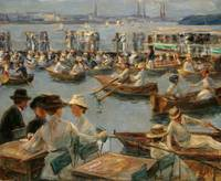 Max Liebermann~On the Alster in Hamburg