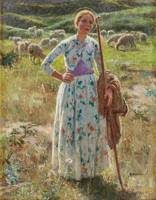 Melchers, Gari  American  1860-1932~Joan of Arc
