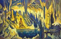 Nicholas Roerich~Buddha, the Conqueror. From the «