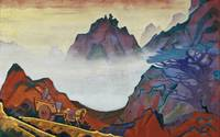 Nicholas Roerich~Confucius, the Just One. From the
