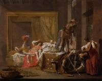 Nicolaes Maes~Scene from the Wedding of Messalina
