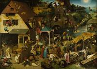 Old Peter Bruegel~The Dutch Proverbs