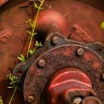 """Rusted Wheel"" by cheshirepoet"