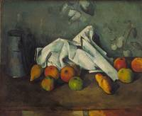 Paul Cézanne~Milk Can and Apples