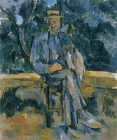 Paul Cézanne~Portrait of Peasant