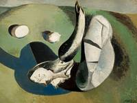 Paul Nash~Landscape of Bleached Objects
