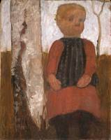 Paula Modersohn-Becker~Girl in a Red Dress