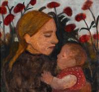 Paula Modersohn-Becker~Girl with child