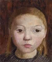 Paula Modersohn-Becker~Head of a Girl