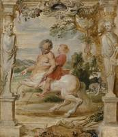 Peter Paul Rubens~Achilles Educated by the Centaur