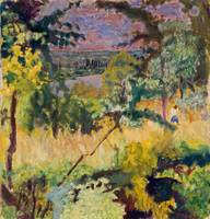 Pierre Bonnard~View of the River, Vernon