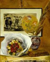 Pierre-Auguste Renoir~Still Life with Bouquet