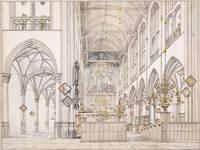 Pieter Janszoon Saenredam~Interior of the Church o