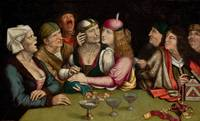 Quentin Matsys~The Unequal Marriage