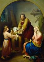 Rafael Flores~The Holy Family