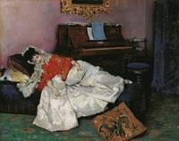 Raimundo de Madrazo y Garreta~The Reading (Aline M