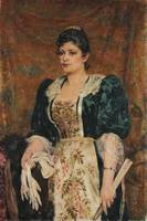 Ramalho Júnior~Portrait of the actress VIrginia
