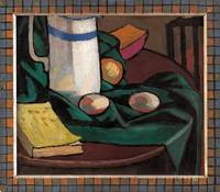Roger FRY~Still life jug and eggs