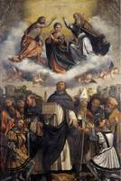 Romanino~Coronation of the Virgin and St. Dominic