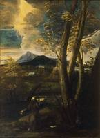 Salvator Rosa~St. Francis in Ecstasy