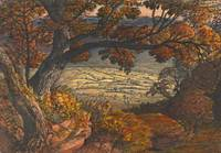 Samuel Palmer~The Weald of Kent