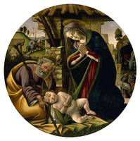 Sandro Botticelli~The Adoration of the Christ Chil