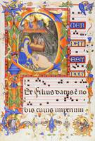 Silvestro dei Gherarducci~Nativity, in an initial