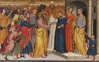 Silvestro dei Gherarducci~The Marriage of the Virg
