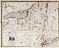 Simeon DeWitt (1756-1834)~A Map of the State of Ne