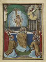 Simon Bening~The Mass of Saint Gregory
