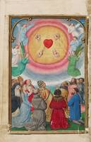 Simon Bening~The Worship of the Five Wounds