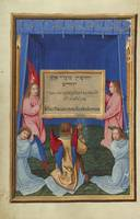 Simon Bening~The Worship of the Inscribed Tablet f