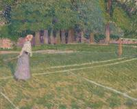 Spencer Gore~Tennis at Hertingfordbury