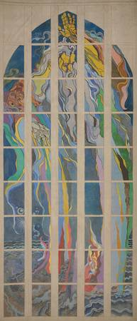 Stanisław Wyspiański~Design for the stained glass