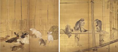 Takeuchi Seihō~Monkeys and Rabbits