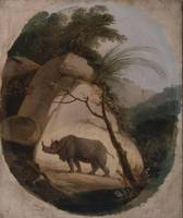 Thomas Daniell~The Indian Rhinoceros