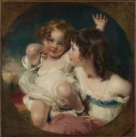 Thomas Lawrence~The Calmady Children (Emily, 1818–