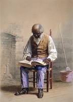 Thomas Waterman Wood~Reading the Scriptures