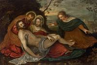 Tintoretto~Lamentation over the Dead Christ (or Pi