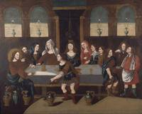 Unidentified Limner~The Marriage Feast at Cana