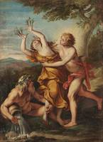 Unknown author~Apollo and Daphne