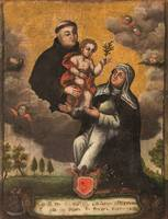 Unknown author~St Anthony's apparition