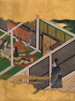 Unknown, Japanese (Edo Period)~Scene from the Tale