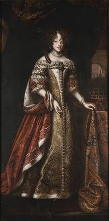 Unknown~Portrait of Christine Queen of Sweden