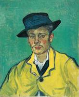 Vincent van Gogh~Portrait d'Armand Roulin (Portrai