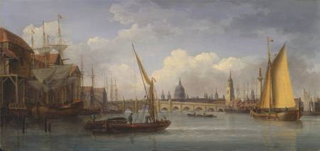 William Anderson~London Bridge, with St. Paul's Ca