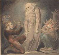 William Blake~The Ghost of Samuel Appearing to Sau
