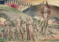 William Blake~The schismatics and sowers of discor