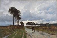 William Lamb Picknell~Paysage (A Winter Day in Bri